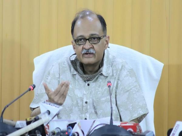 Uttarakhand Chief Secretary Utpal Kumar Singh.