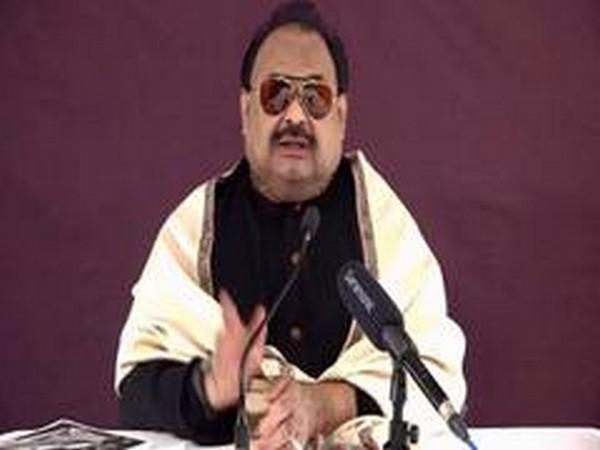 Muttahida Qaumi Movement's (MQM) founder and leader Altaf Hussain