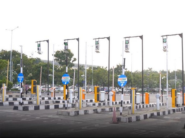 GMR Hyderabad International Airport (GHIAL) introduced India's first fully contactless airport car parking  on Friday. (Photo/ANI)