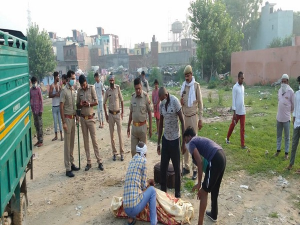 Body of an unidentified woman was recovered in Ghaziabad on Monday. (Photo/ANI)