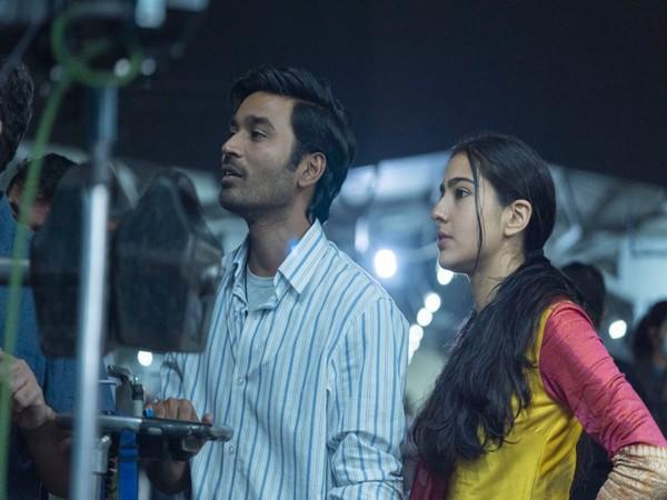 Dhanush and Sara Ali Khan