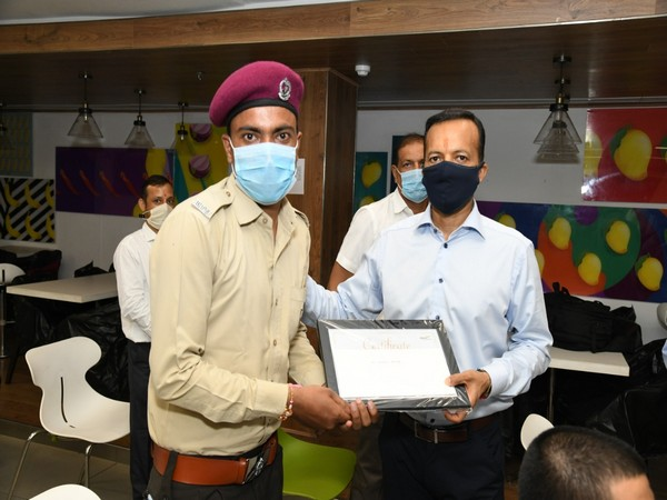 Jindal felicitating its corona warriors on Monday