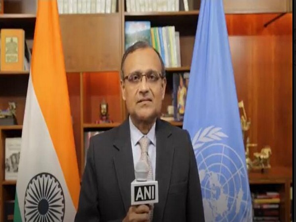 India's Permanent Representative to the United Nations, Ambassador TS Tirumurti. [Photo/ANI]