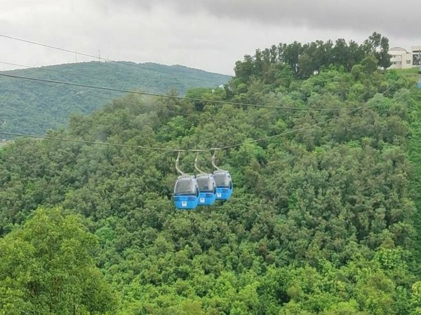 Jammu ropeway project in Jammu and Kashmir.