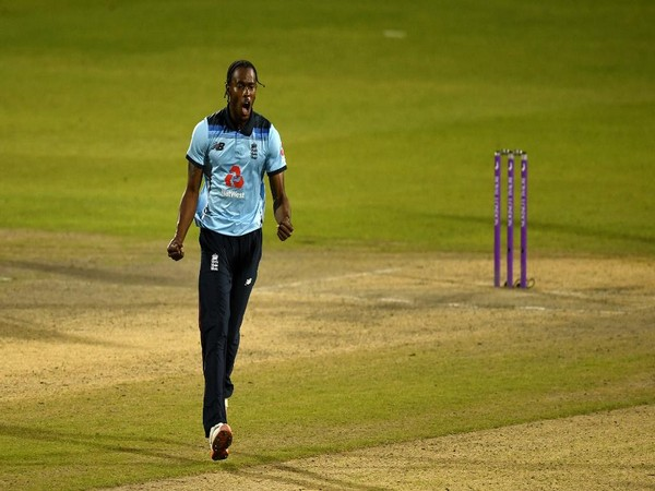 England pacer Jofra Archer. (Photo/ ICC Twitter)