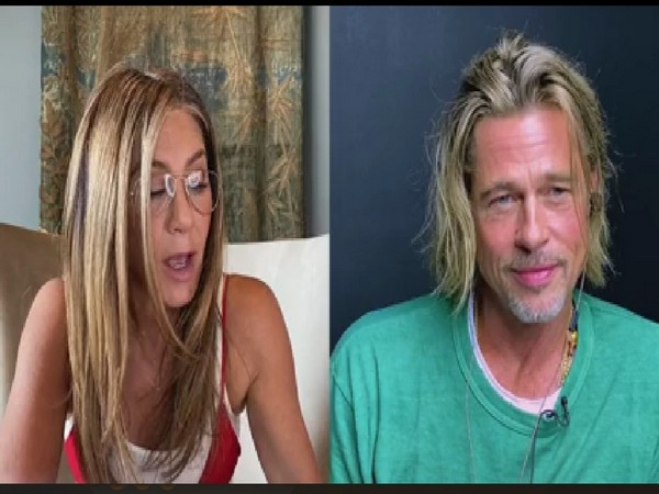 Actors and former couple Brad Pitt and Jennifer Aniston (Image Source Facebook)