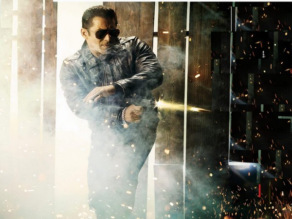A still from 'Radhe' featuring Salman Khan