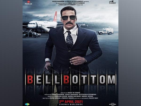 Akshay Kumar in the poster of the film 'Bell Bottom' (Image Source: Instagram)