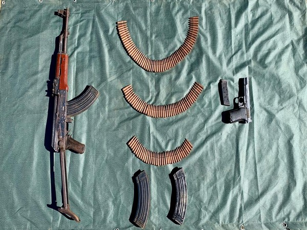 In a joint operation Indian Army and police busted a terrorist hideout in Poonch on Sunday (Photo/ANI)