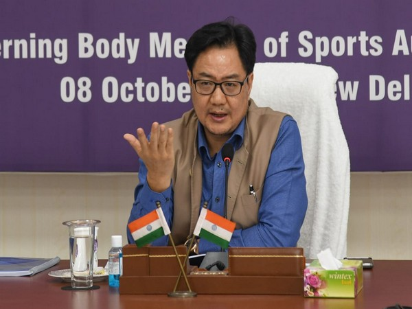 Union Minister of Youth Affairs and Sports Kiren Rijiju (file image)