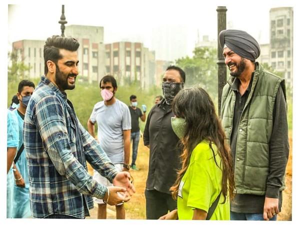 Actor Arjun Kapoor resumes work post-COVID-19 recovery (Image Source: Instagram)