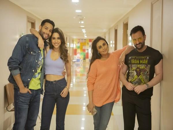 Cast of 'Bunty Aur Babli 2'