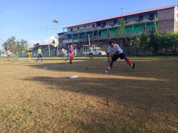 Hockey players resumed sports activities in Assam, Manipur. (Photo/ Hockey India)