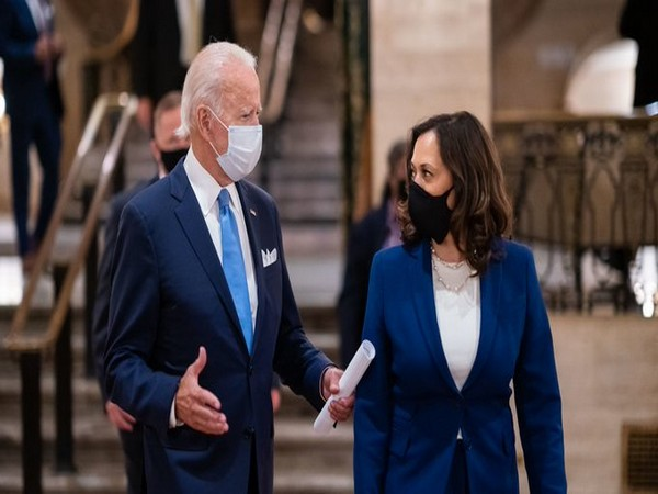 Joe Biden and Kamala Harris (Credit: Kamala Harris/Twitter)