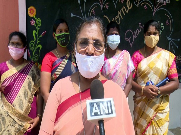 Sister Prakasi, headmistress of St Anne's Matriculation Higher Secondary School in Tamil Nadu. (Photo/ANI)