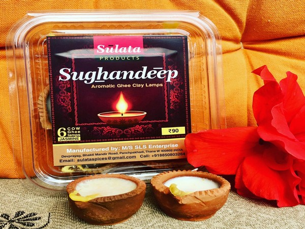 The 'ghee diyas' -- 'Sughandeep' (Image courtesy: Sameer Mahajan)