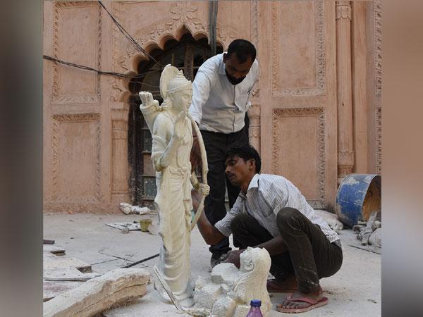 Lord Shri Ram idols being built in Lucknow, Uttar Pradesh (Image ANI)
