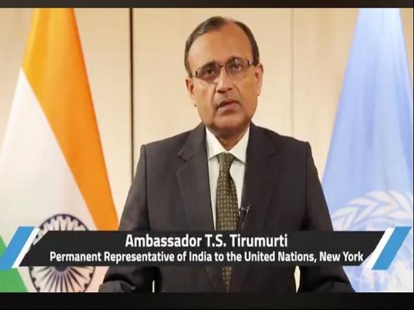 Indian Permanent Representative at the United Nations, TS Tirumurti