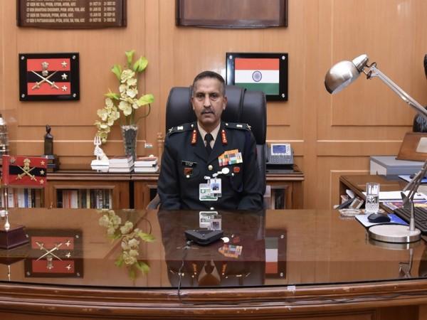 VCOAS Lt Gen SK Saini during a virtual meeting in Bangladesh on Wednesday.
