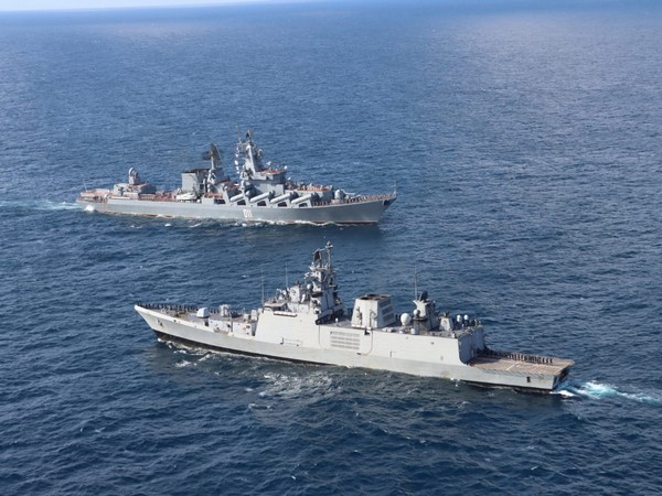 The ongoing Passage Exercise between Indian and Russian navies