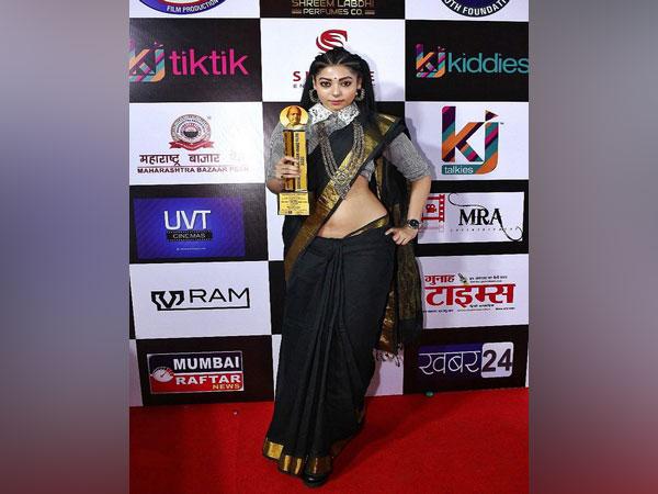 Anangsha Biswas honoured with Dadasaheb Phalke Icon Award