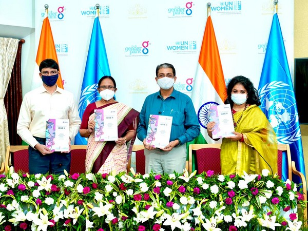 Kerala Minister for Health announced the conduct of ICGE-II by releasing the brochure (Photo/ANi)