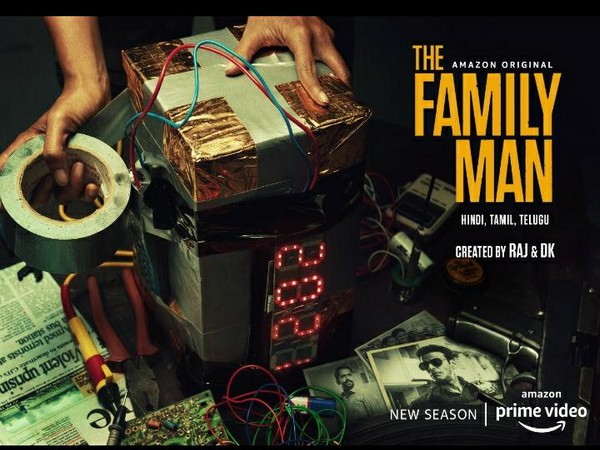 Poster of new season of 'The Family Man' (Image Source: Instagram)