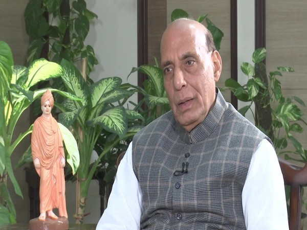 Defence Minister Rajnath Singh (Photo/ANI)