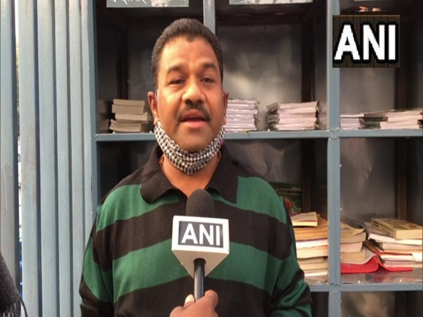 Indore resident started 'wall of education' to help poor people. (Photo/ANI)