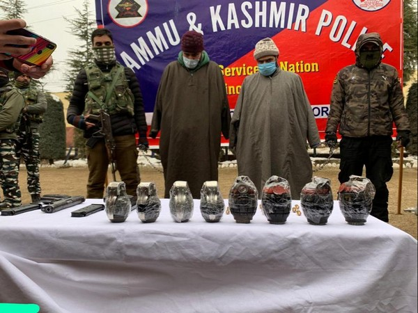 Bandipora police along with security forces arrested two terrorist associates of Jaish-e-Mohammed (JEM) terror outfit