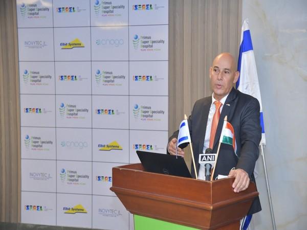 Ambassador of Israel in India, Dr. Ron Malka.