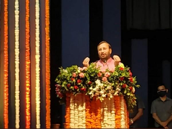 Union Minister for Information and Broadcasting Prakash Javadekar (Image courtesy: ANI)