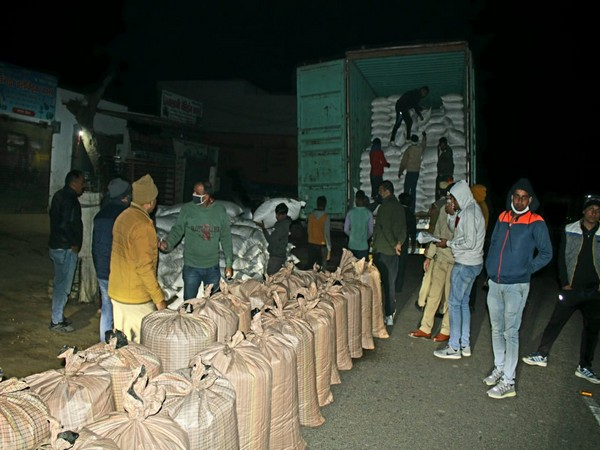 Haryana Police seizes 527 kg 'Doda Post' (Photo/ANI)