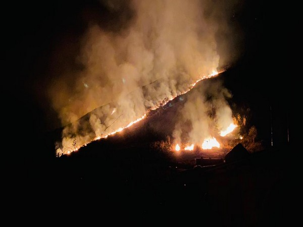 Forest fire broke out at Koylabasti in Anini district of Arunachal Pradesh late evening on February 11.
