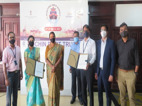 Cochin Port Trust signs MoUs for developing a Free Trade Warehousing Zone (FTWZ), a Cryogenic Warehouse and an Aviation Fuel Terminal.