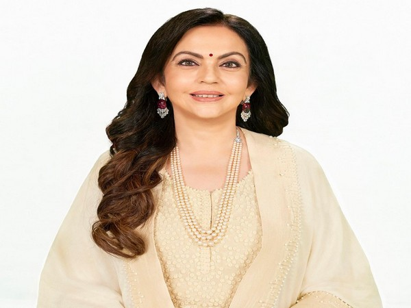 Nita Ambani, chairperson and founder of the Reliance Foundation