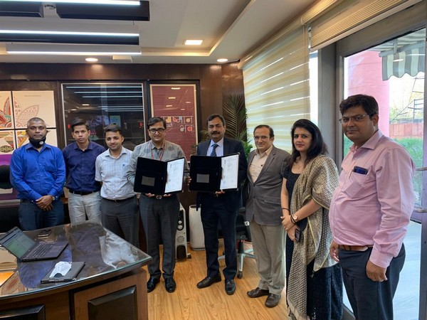 NHA signs MoU with UTI InfraTech to issue free new PVC Ayushman Bharat PM-JAY cards to beneficiaries (Photo/ANI)