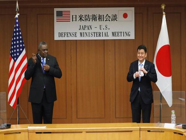 US Defence Secretary Lloyd Austin and Japanese Defence Minister Nobuo Kishi (File Photo)