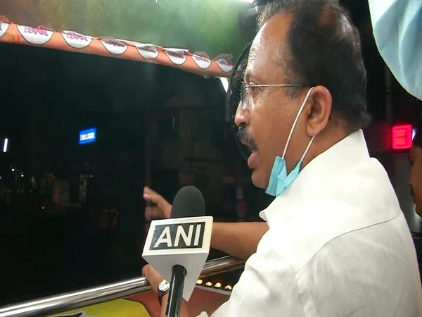 Minister of State for External Affairs V Muraleedharan speaking to ANI on Tuesday.