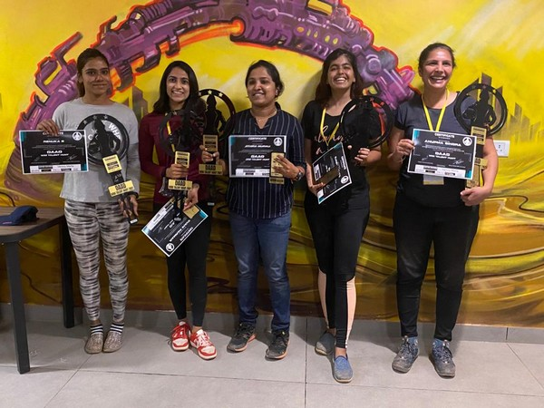 Selected female drivers for the Indian National Rally Championship 2021