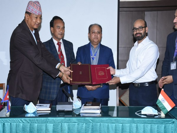 The agreement was signed under the Indian government grant assistance on April 5, 2021.
