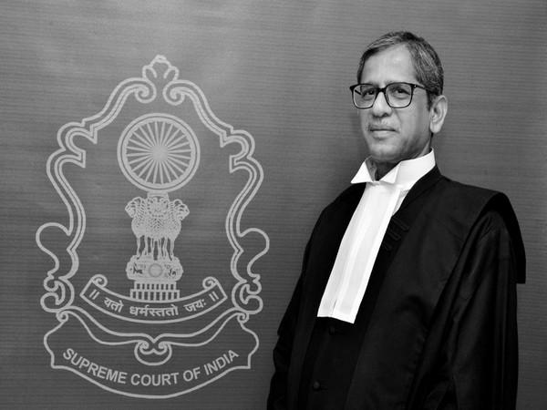 Justice NV Ramana (File Photo/ANI)