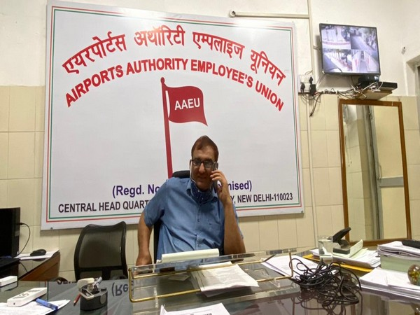 AAEU General Secretary Balraj Singh Ahlawat. [Photo/ANI]
