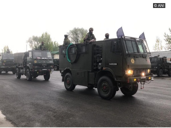 Indian Army convoy