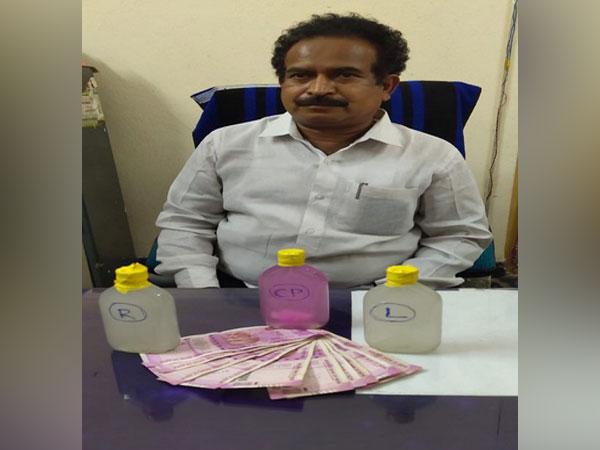 MPDO Pedapudi Albert accused of receiving bribe. [Photo/ANI]