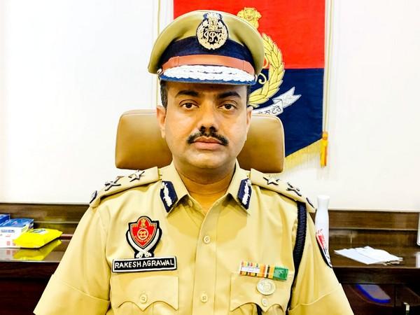 Ludhiana Police Commissioner Rakesh Kumar Agrawal.