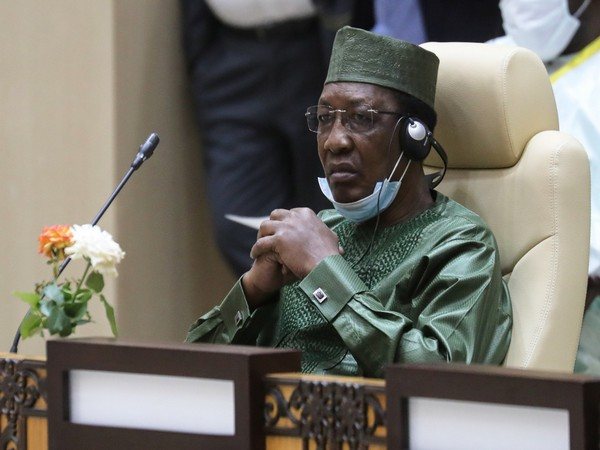 Chad's newly re-elected President Idriss Deby