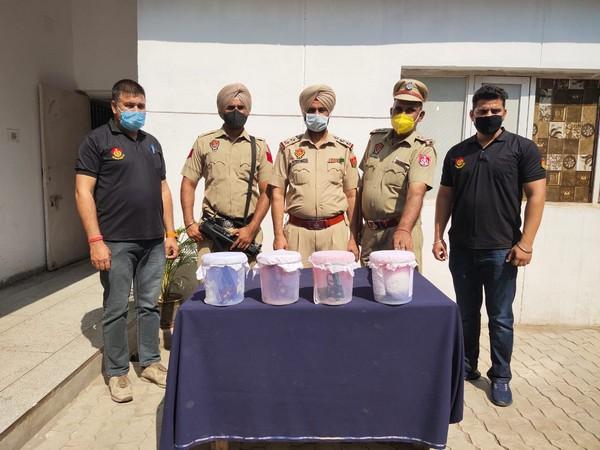 Punjab police (Photo/ANI)