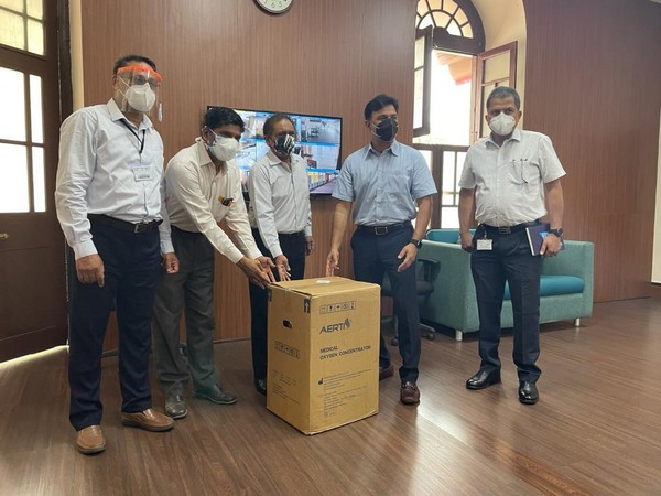 CII donating oxygen concentrator (Photo/ANI)