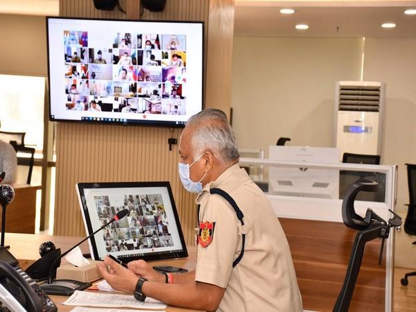 Commissioner of Delhi Police S N Shrivastava (Photo/ANI)